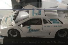 Lamborghini mit unserem Logo