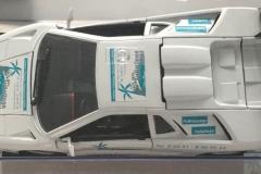 Lamborghini mit unserem Logo von oben
